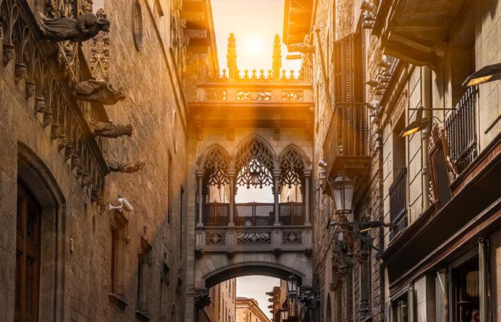 Rutes per Catalunya, Ciutat Vella de Barcelona
